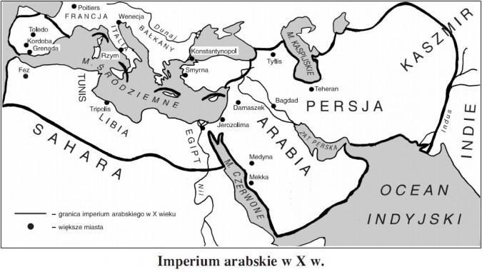 Imperium arabskie w X wieku