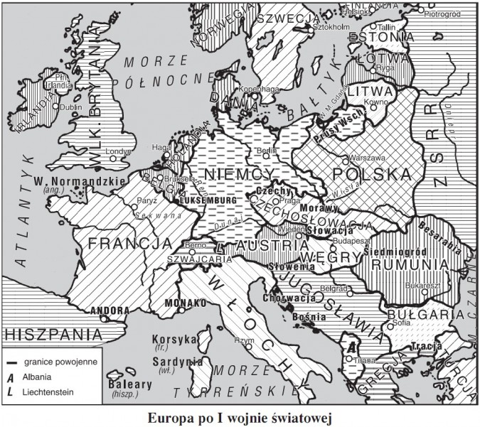Europa po I wojnie światowej