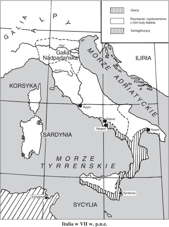 Italia w VII wieku p.n.e.
