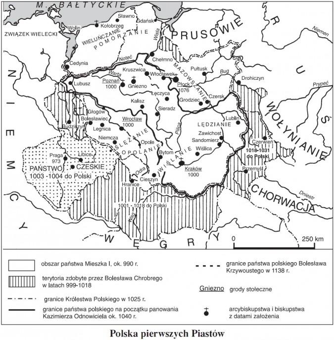 Polska pierwszych Piastów