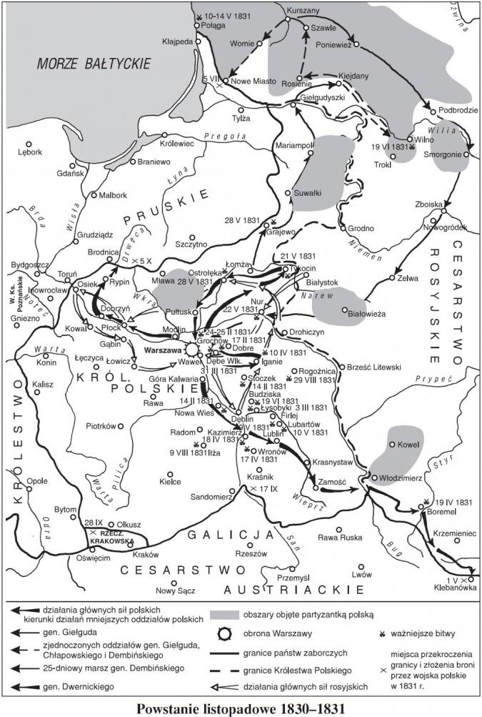 Powstanie listopadowe 1830-1831