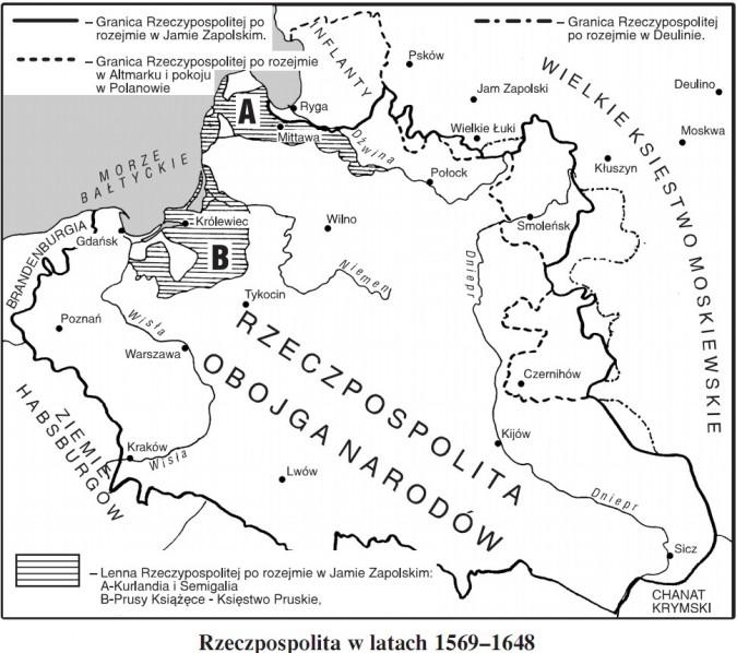 Rzeczpospolita w latach 1569-1648