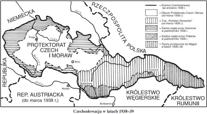 Czechosłowacja w latach 1938-39